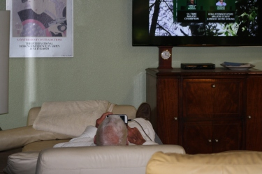 watching the Masters