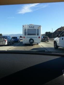 traffic - van