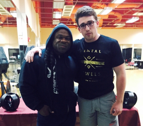 Bienie with Kai Greene