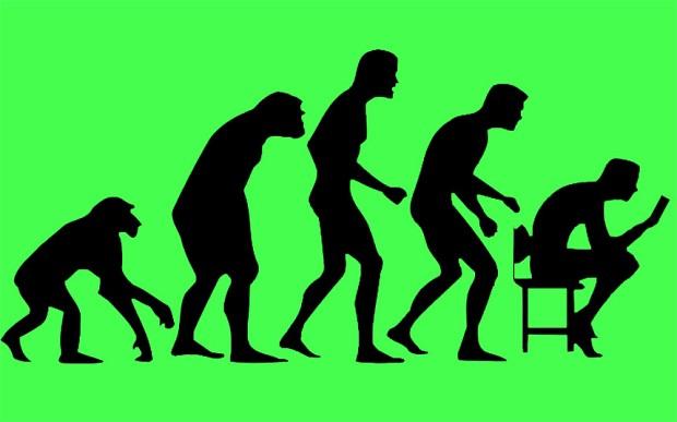 Texting De-evolution