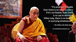 dalai lama - worry