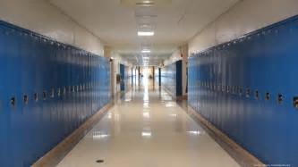 empty school hall